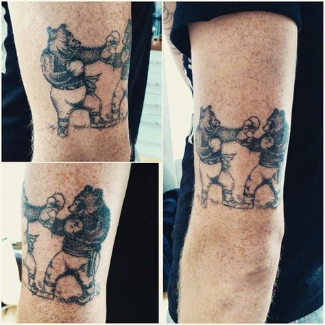 single needle tattoo london stick and poke