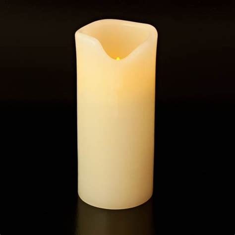 large led real wax 7 pillar battery operated candles