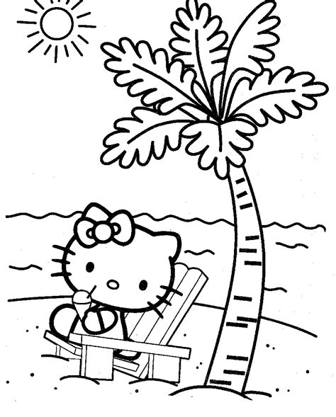 Hello Kitty Coloring Pages Free Printable Pictures Printable Coloring Pages For Hello