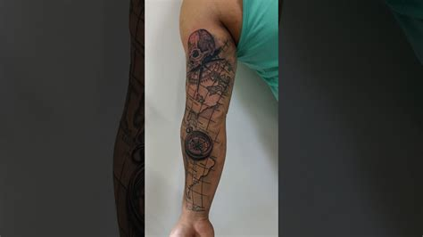 tattoo sombreada mapa b 250 ssola youtube