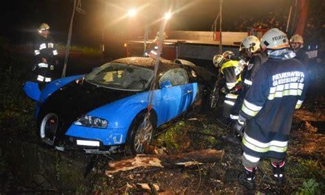 crashed bugatti veyron for sale bugatti veyron crash in austria 40 foot drop