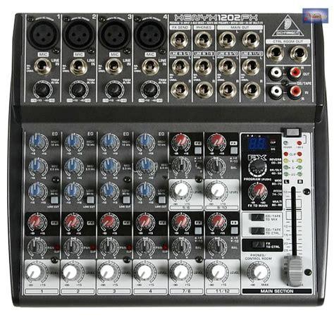 Mixer Xenyx 1202fx behringer xenyx 1202 fx