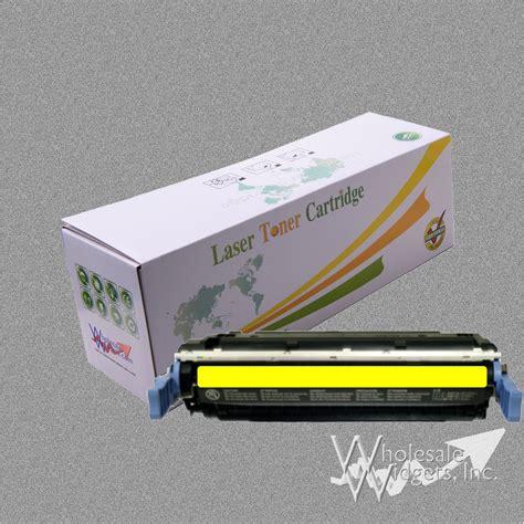 Serbuk Toner Hp 4600 Yellow compatible hp 641a yellow toner for use in hp 641a yellow