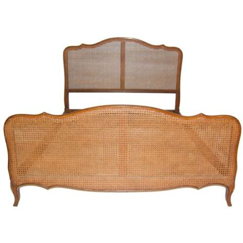 french cane bed french kingisze cane bergere bed circa 1930 199159