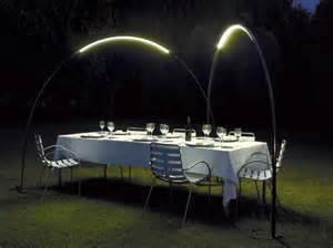 eclairage table de jardin d 233 coration