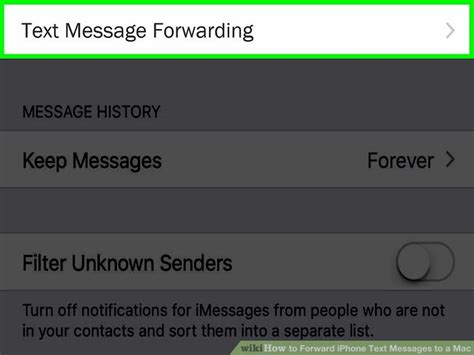 forwarding mac how to forward iphone text messages to a mac 10 steps