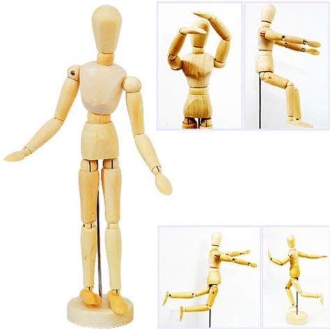figure doll 20cm wooden jointed doll figures model painting sketch