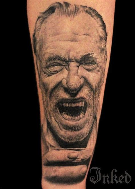 charles bukowski tattoo 100 best images about tatuajes de escritores on