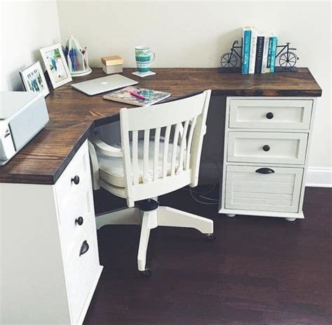 diy corner desk ideas grace farmhouse corner desk by magnoliasandhardware on etsy house home office decor