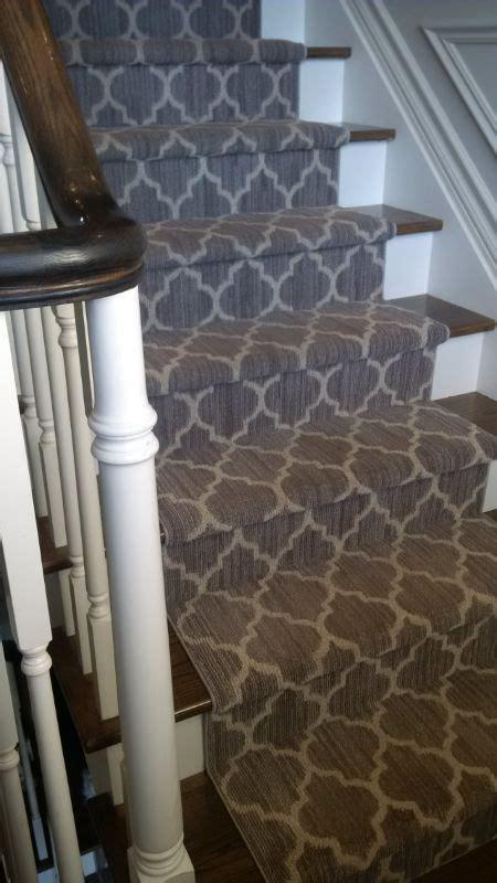 stufenmatten für schmale treppen teppich idee treppe