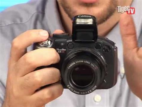canon powershot s5 is digital camera youtube