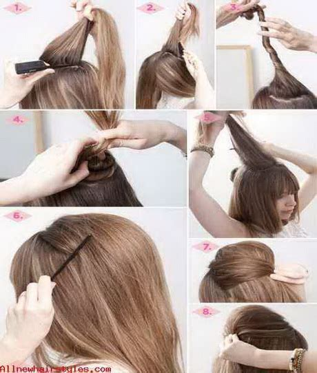 everyday hairstyles for long hair step by step 10 hairstyles for everyday