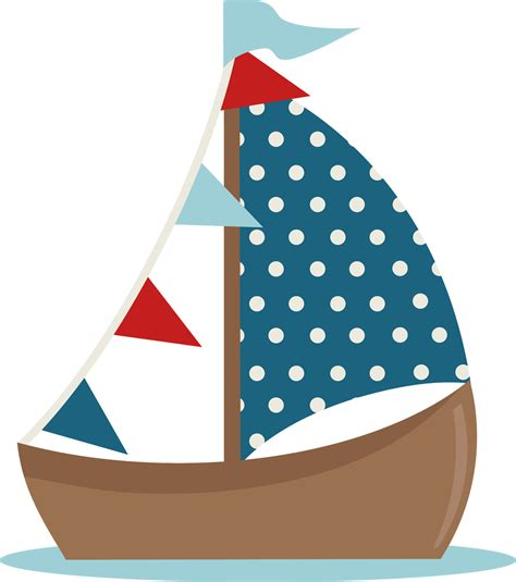 cute sailboat clipart clipart suggest - Boat Drawing Cute