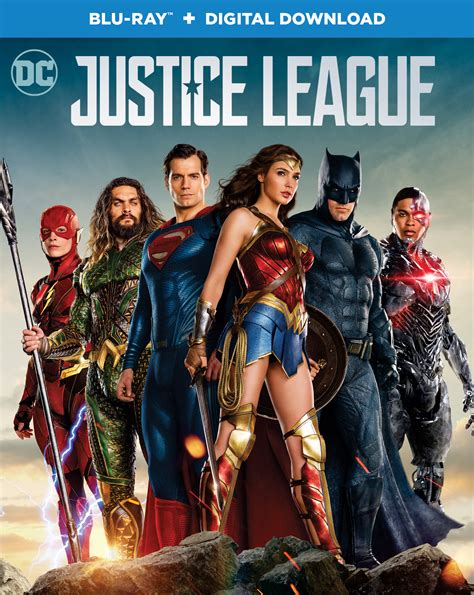 film justice league rating justice league blu ray review