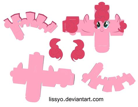 My Pony Paper Crafts - paper ponies by lissyo on deviantart