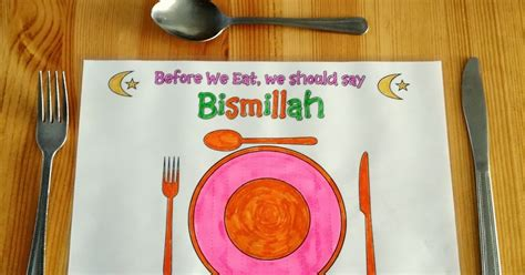 islamic crafts for karima s crafts islamic placemat and worksheets 30 days