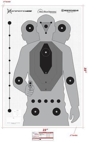 printable sniper training targets 10pk sniper s hide target mile high shooting accessories