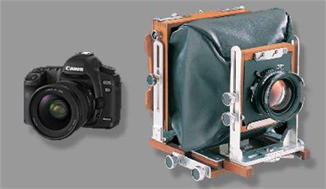 chambre photographique num駻ique test canon 5d mkii contre chambre 4x5 quot