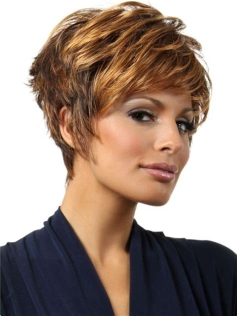 womans short hairstyle for thick brown hair 16 best hairstyles for women over 50 with thin hair and