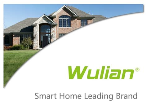 wulian smart home automation solutions