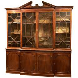 L Shaped Bookcase An 18th C English Chippendale Breakfront Bookcase China