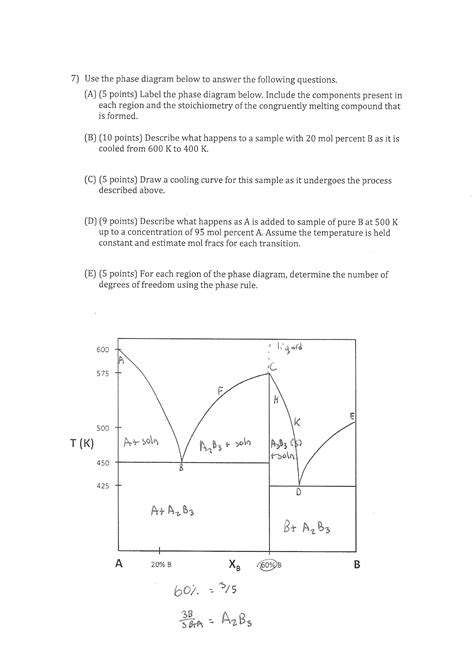 phase diagram quiz solved use the phase diagram below to answer the followin