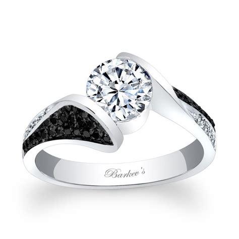 barkev s black engagement ring 7871lbk