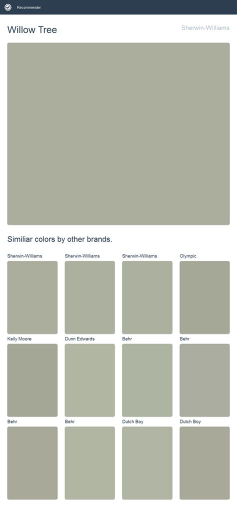 willow tree sherwin williams 2017 sherwin williams paint paint colors dunn edwards