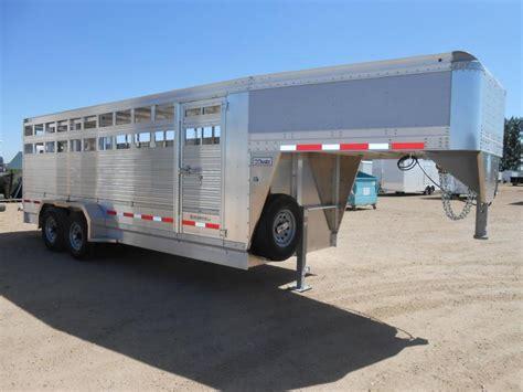 2017 eby trailers 20 maverick ls gooseneck livestock trailer