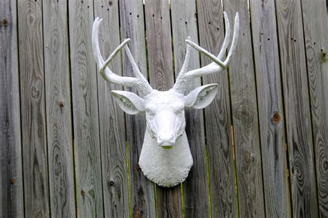 deer head home decor white faux deer head home decor baltimore by near