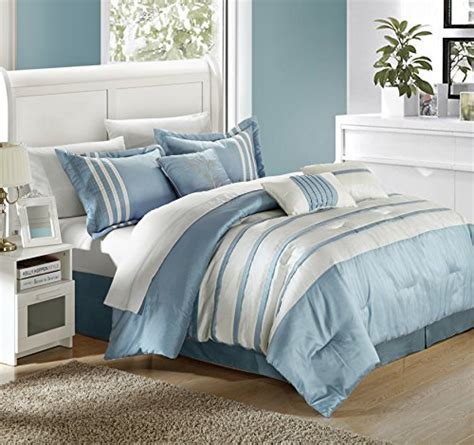 chic home torino pleated piecing luxury bedding collection