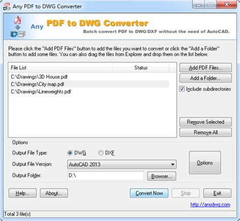 converter to pdf any pdf to dwg converter download