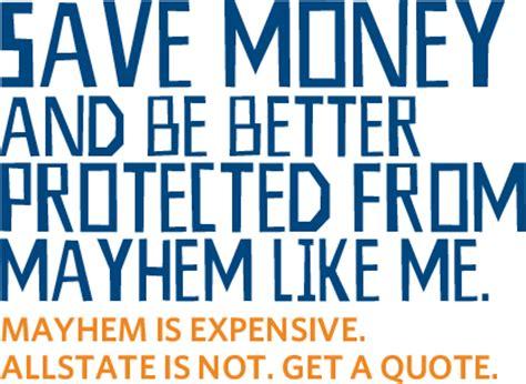 Allstate Mayhem Quotes. QuotesGram