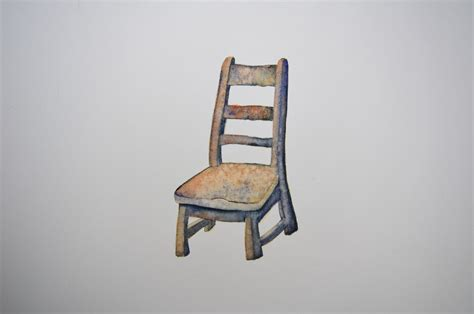 The Empty Chair by Empty Chairs Jackie Morris Artist