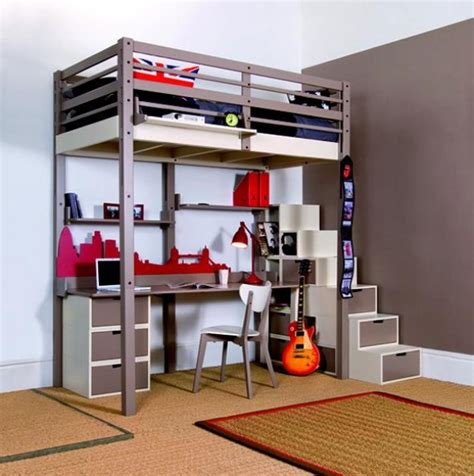 smart space saving bed hides a walk in closet underneath 15 ingeniously smart and functionable bedroom space saving