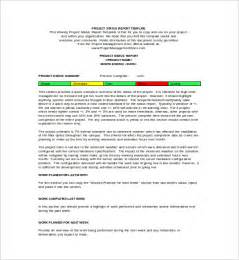 Project Report Word Template by Weekly Status Report Template 9 Free Documents