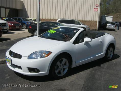 white mitsubishi eclipse mitsubishi eclipse spyder price modifications pictures