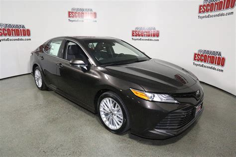 2018 camry xle new 2018 toyota camry xle v6 4dr car in escondido 1015242