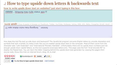 bismillah welcome to my blog cara membuat tulisan klik liana parquinda cara membuat tulisan terbalik