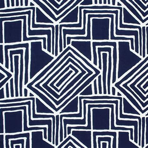 Convington Blue Batik Maxi Jersey batik geo on navy blue cotton jersey blend knit fabric a