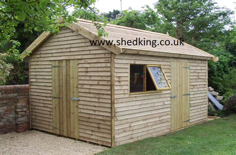 The Shed King by Triyae Luxury Outdoor Sheds Various Design