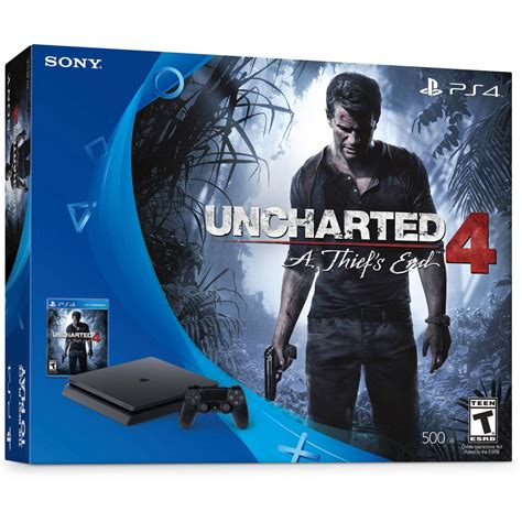 Ps4 Slim Skin Uncharted 4 console sony playstation 4 slim bundle uncharted 4 atacadogames