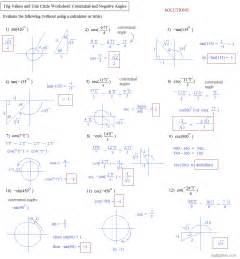 collections of math trigonometry worksheets bridal catalog