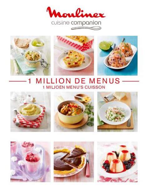 manuel moulinex cuisine companion et notice cuisine companion