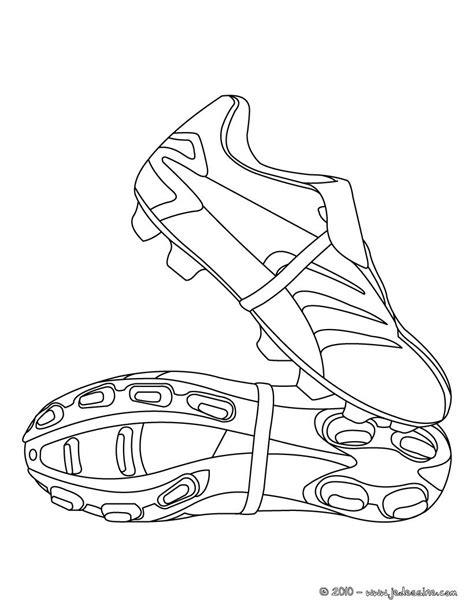 nike football coloring page coloriage de chaussures de foot un dessin de cron pour