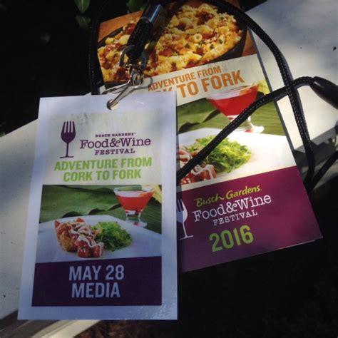busch gardens food wine festival 2017 what s new