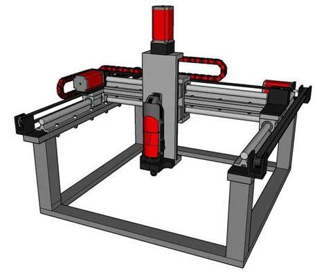 Router Printer buildersbot 3d model smashing robotics