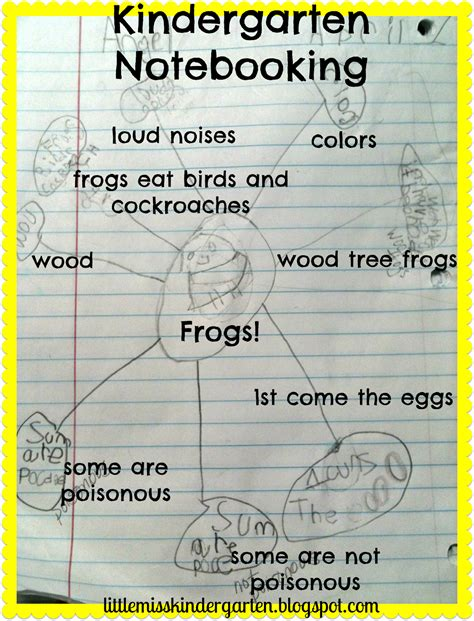 miss kindergarten lessons from the schoolhouse frogs and