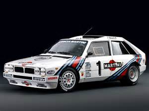 Martini Lancia 1985 Lancia Delta S4 Race Car Racing Rally Martini Italy