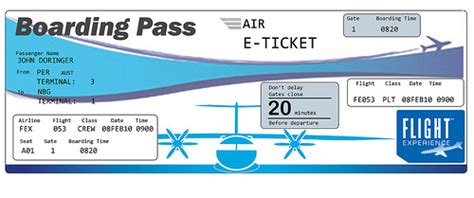 pretend plane ticket template images for gt printable blank plane ticket template